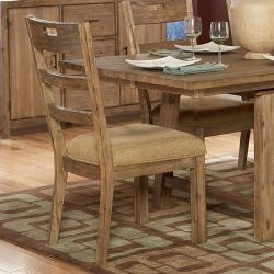 @Overstock - The natural wood of this set of two driftwood dining side chairs is beautifully accented by the tan Chenille upholstery. With a weathered driftwood finish, the chairs wonderfully accent a casual or cabin-style kitchen or dining room. http://www.overstock.com/Home-Garden/Nat-Collection-Weathered-Driftwood-Side-Chairs-Set-of-2/5963463/product.html?CID=214117 $264.99