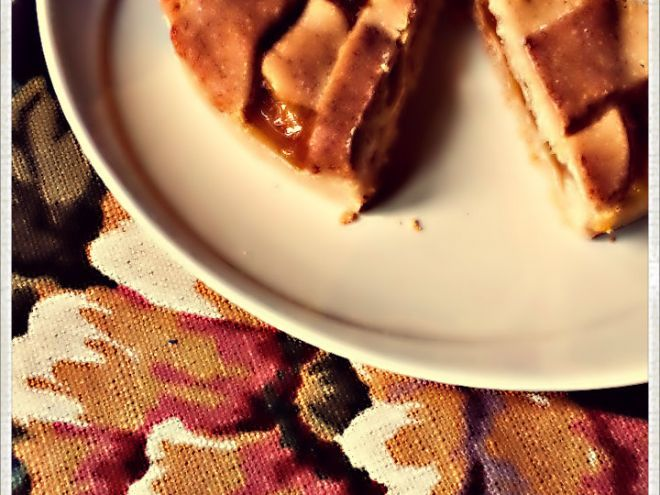 Ricetta Dessert : Crostata vegana di avena con mango cremoso da Bastet79