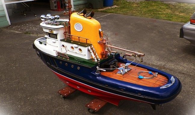 Details about Model Tug Boat 7 Full Size plan sheets for ...