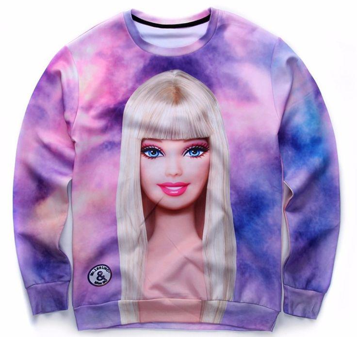 Barbie Doll Sweatshirt