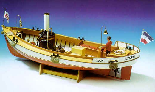 Krick RC Model Steam Boat Kits from Cornwall Model Boats