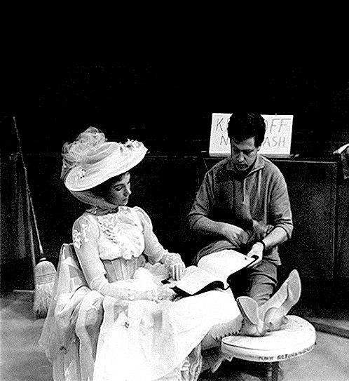 Behind the scenes of Mary Poppins