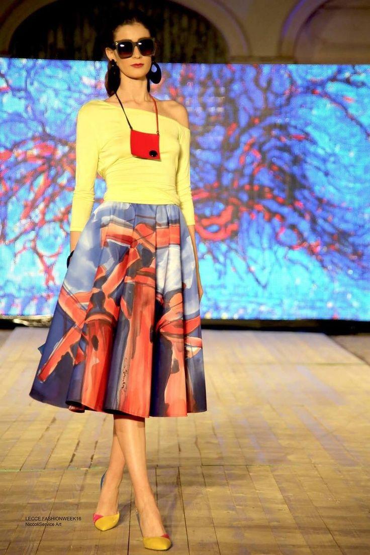 #NEWS  ____GAUDIOMONTE COUTURE  PH Paolo De Novi HD Massimo Ferraroni MK Francesco Chironna Maria Carmen Martorana eventi. #stile #fashion #cosmoprof #bologna #fiera #altamodaaltaroma #roma #fashion #newyorkfashion #handpainted #puglia