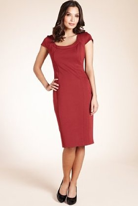 little red dress Marks and Spencer, UK Clothes Pinterest