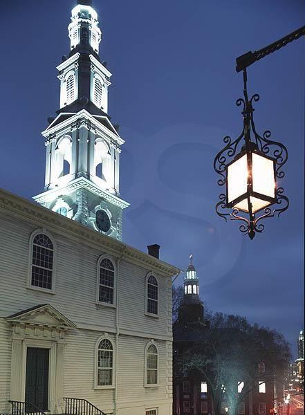 Providence, Rhode Island.. The first baptist church in America #VisitRhodeIsland