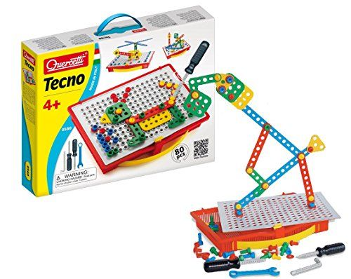 Quercetti Tecno - 80 Piece Building Set - Construct 2D & ... https://www.amazon.com/dp/B000OSHG6E/ref=cm_sw_r_pi_dp_x_HQ7mybSDV6788