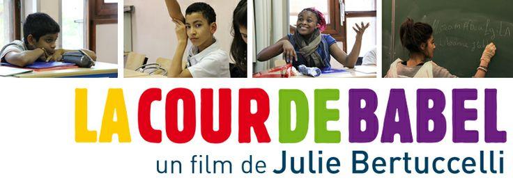 La Cour de Babel, Julie Bertuccelli - Sortie le 12 mars. Une classe d'accueil au quotidien : 24 élèves, 24 nationalités ! Lien vers le site pédagogique.