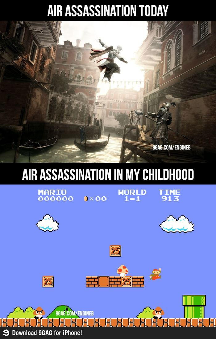 Air Assassinations today and in childhood