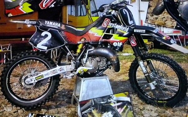 Alessio chiodi Yamaha YZ 125 cc.team Chestrefield Rinaldi 1995