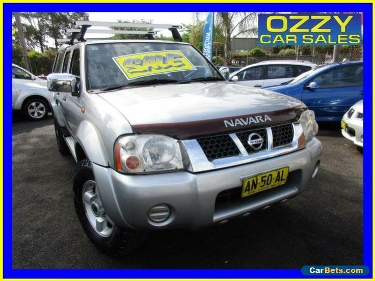 2006 Nissan Navara D22 ST-R (4x4) Silver Manual 5sp M Dual Cab Pick-up #nissan #navara #forsale #australia