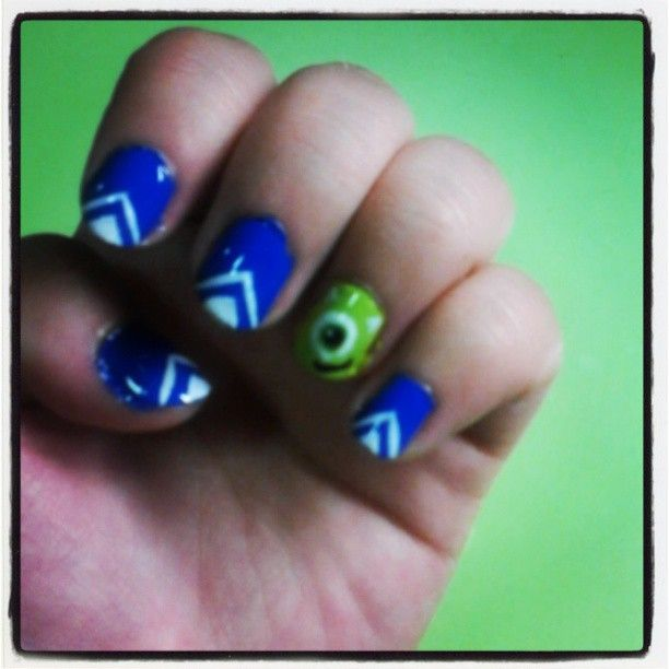 Monsters University Nails!