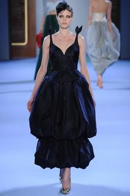 Ulyana Sergeenko Spring 2014 Couture Fashion Show: Complete Collection - Style.com