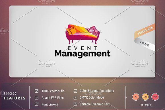 Event Management Event Management Management Logo Event Logo