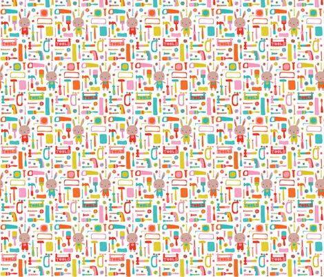 little workshop fabric by petite_circus on Spoonflower - custom fabric
