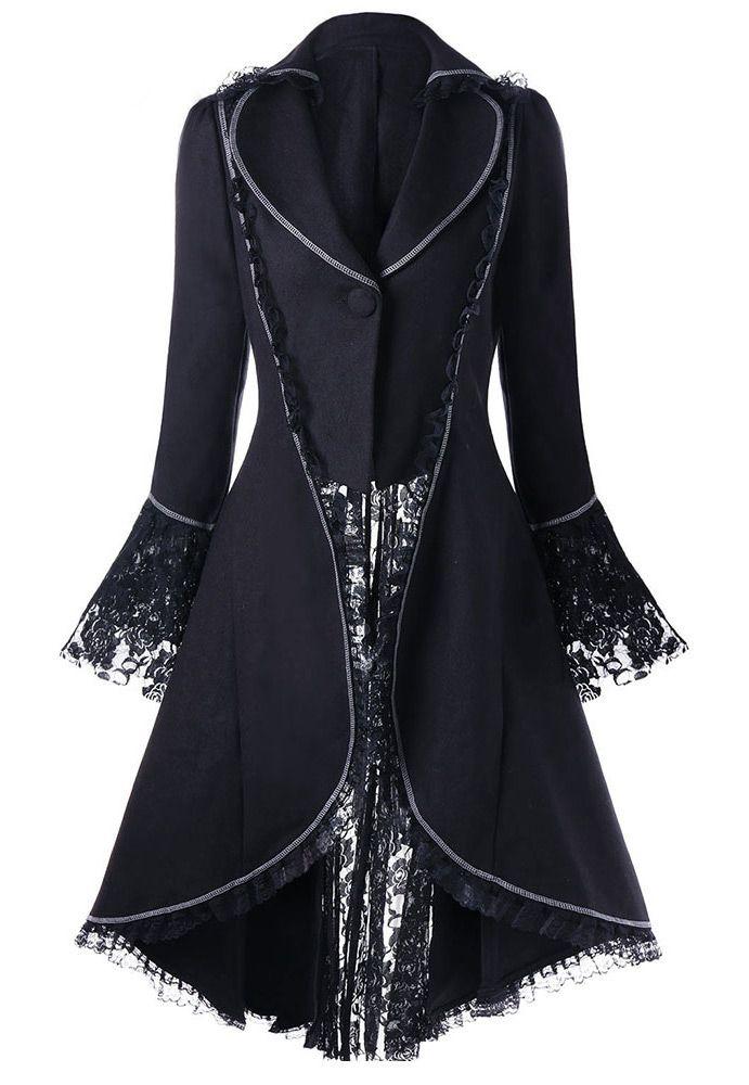 ee2422e13240d Nouveau produit : Veste noire avec coutures blanche lacage et ...