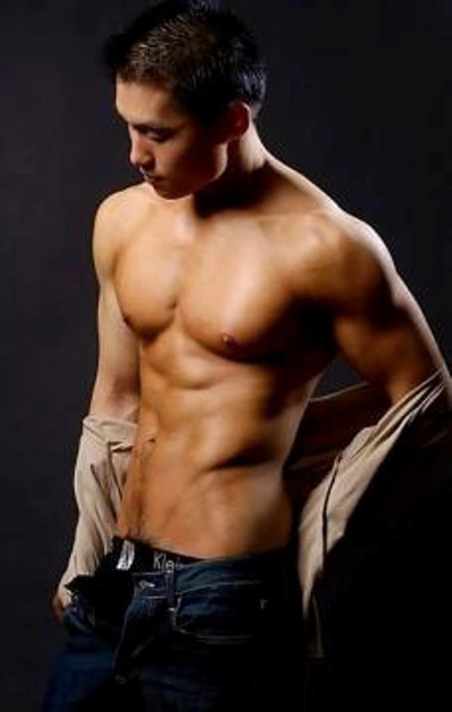 Hot gay asian model