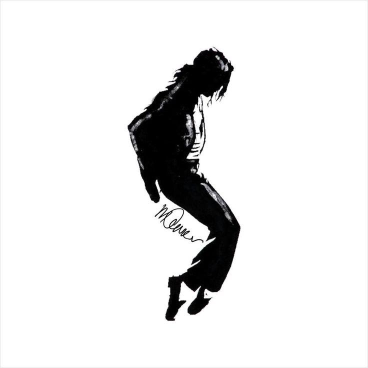 Michael Jackson Silhouette #MichaelJacksonSilhouette # ...