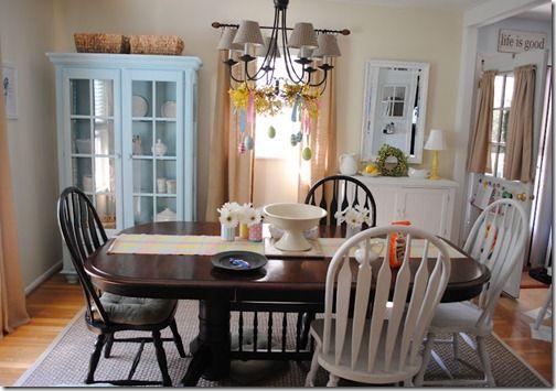 Beautiful dining room @NaptimeDecorator