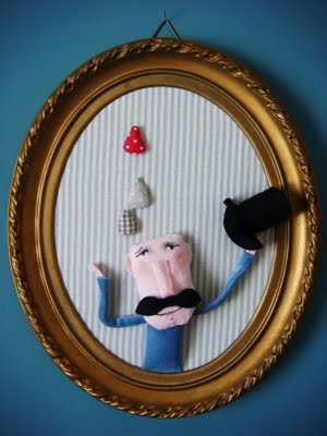 """mr dimanche / rose minuscule.  Just like Phoebe's """"Gladys"""". Remember?"""