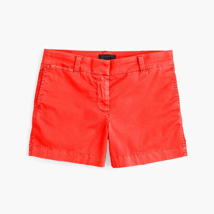 "J.Crew 4"" stretch chino short (many colors) - $45"