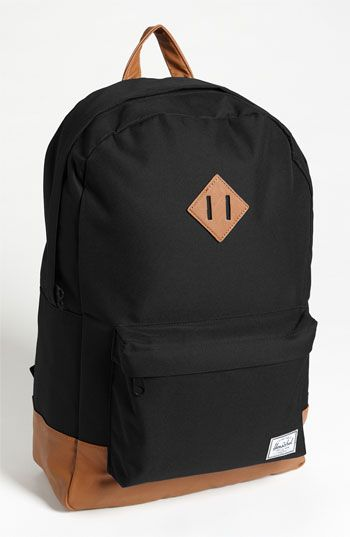 Herschel Supply Co. 'Heritage' Backpack | Nordstrom- See these all around campus and the subway. Perfect for the college, younger. and only $55