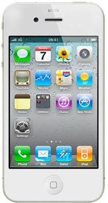 Telefono Movil Iphone 4 8GB libre blanco http://elhicas.tiendasgo.com