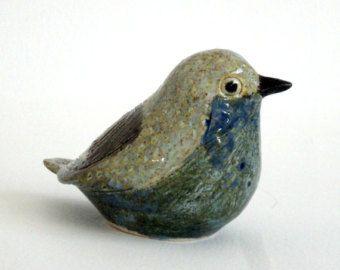 pottery bird …