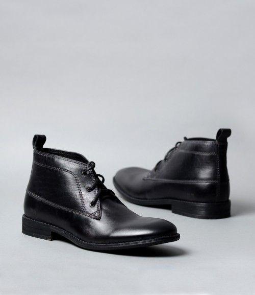 Roma Rib Bell botas Touch cinta elegir tamaño y color, negro