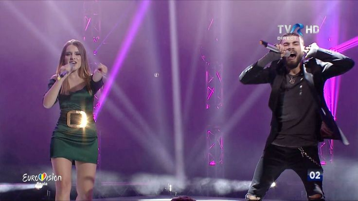 Romanian singers Ilinca and Alex Florea won the national selection final and will represent Romania at the 2017 Eurovision music competition in Kiev.