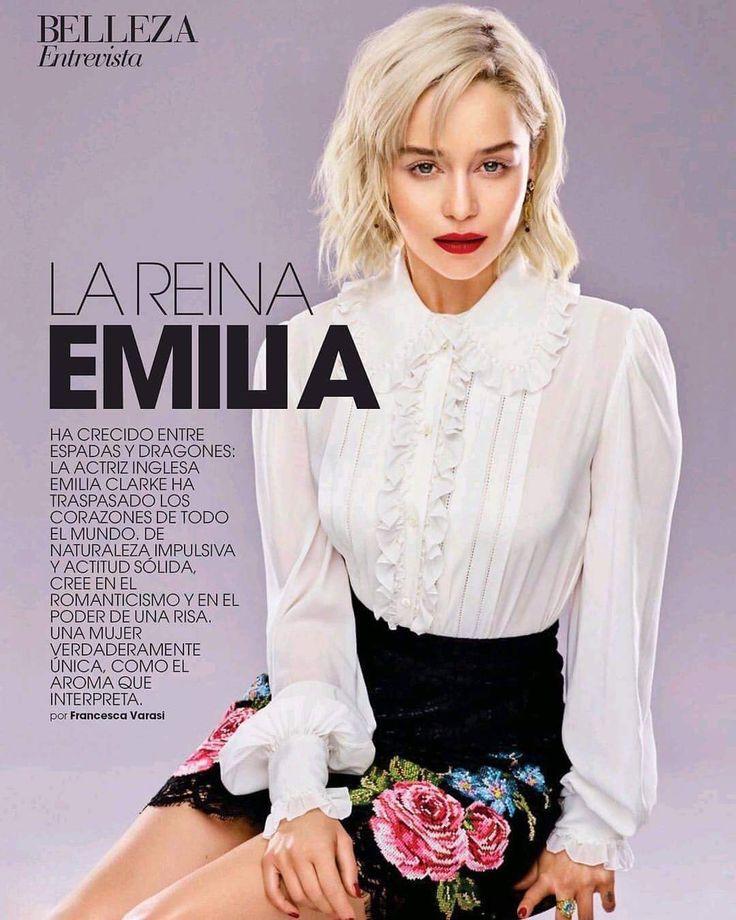 Pin by Maria Ioannou on Emilia Clarke!!!! | Emilia clarke ...