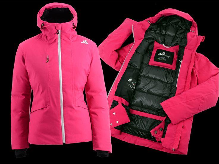 """jaam 58""""58 women jacket 100% waterpoof down jacket fully seam sealed superwarm"""