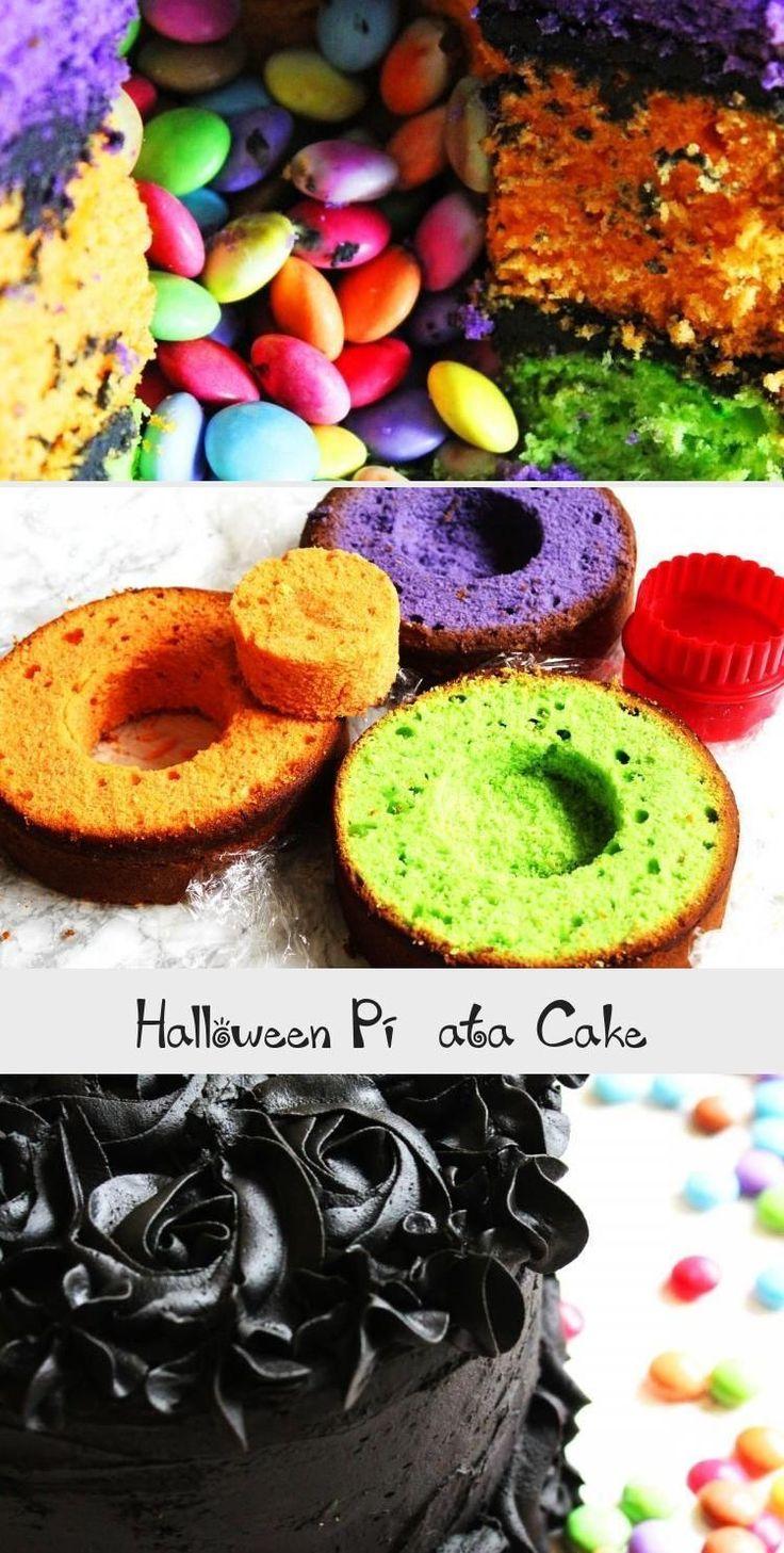 Halloween Pinata Kuchen vom Abendessen in den Vororten