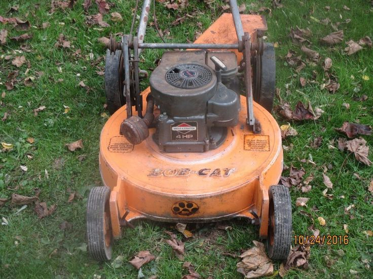 "BOBCAT LAWN MOWER SELF PROPELLED 21""  VINTAGE"