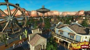 RollerCoaster Tycoon World in-game screenshots