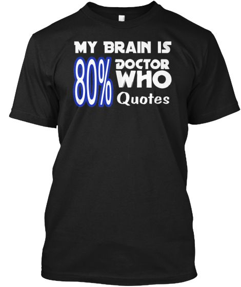 Ltd Edition Doctor Who Quote Tee #doctorwho #whovian