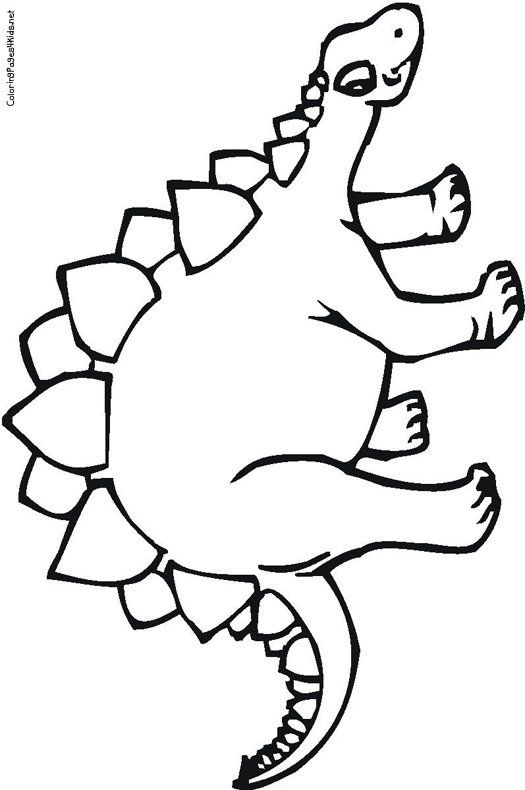 Stegosaurus Coloring Pages | Super coloring pages ...