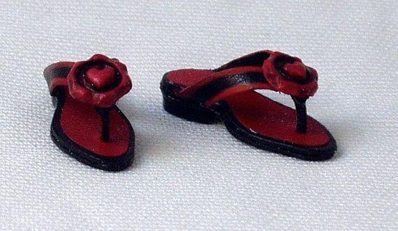 Sandali infradito in pelle fatti a mano vari by minifromItaly