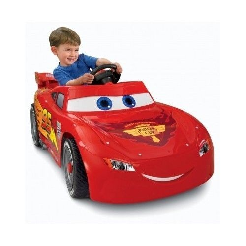 lightning mcqueen power wheels disney pixar cars riding kids toys battery car 39500 http