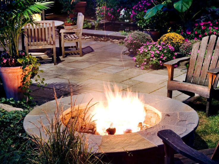 Amazing Outdoor Fireplaces and Fire Pits | DIY Shed, Pergola, Fence, Deck & More Outdoor Structures