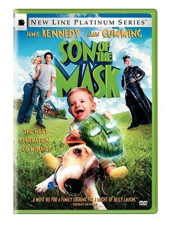 Son of the Mask DVD ~ http://www.amazon.com/dp/B00080ZFZW/ref=cm_sw_r_pi_dp_gXDqsb1D3KRJG  Much funnier than the first one.Possibly the funniest movie my family has ever watched!!!!Our favorite comedy.