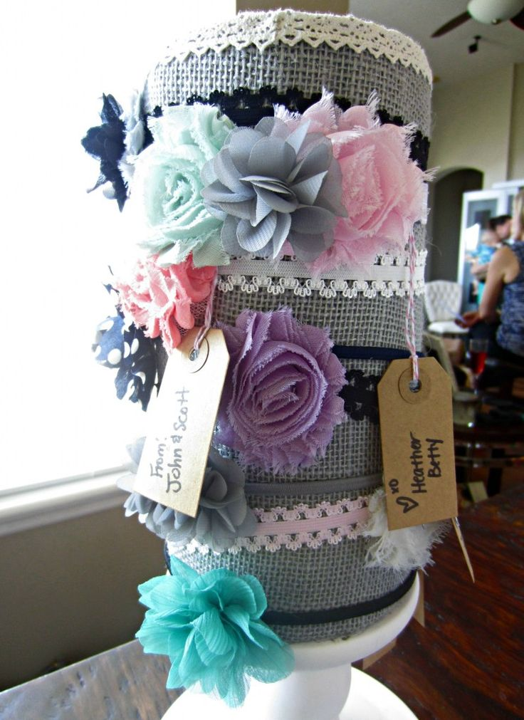 Baby Shower Headband Station such a great Idea!! Each guest makes a headband for the sweet princess to come!