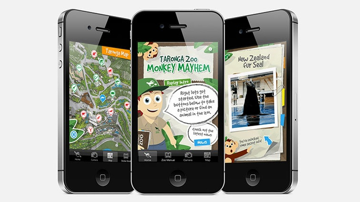 The Taronga Conservation Societies goal is to create tomorrow's conservationists today. Deepend and Nomad collaborated to create the Monkey Mayhem iPhone application, an app that engaged the public with Taronga Park Zoo in a fun and educational way, extending their visitors experience beyond the physical confines of the zoo. The project has been an enormous success, receiving 10 individual accolades including the Winner of The Communicator Awards 2011 Award of Excellence in Education.