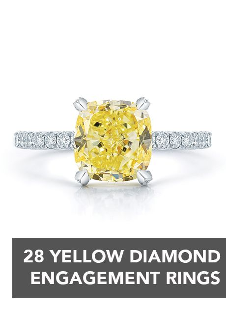 Make a statement with your #engagementring! | Brides.com