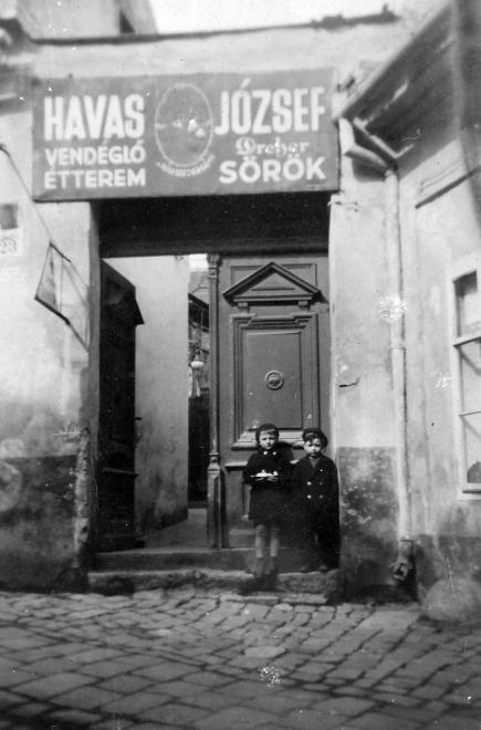 Hadnagy utca 23. Havas József vendéglője.
