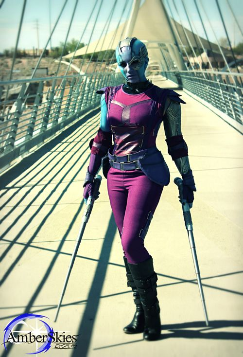 guardians nebula cosplay - photo #9