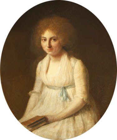 Portrait of Sarah Syprut de Gabay Villa Real, Francois Ferriere, oil on canvas, 1796.