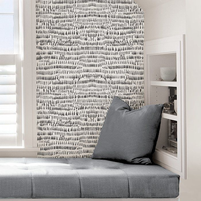 Tariq 18 L X 20 5 W Texture Peel And Stick Wallpaper Roll Peel And Stick Wallpaper Wallpaper Roll Nuwallpaper