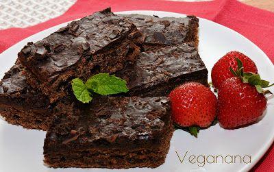Brownie Vegano - Veganana