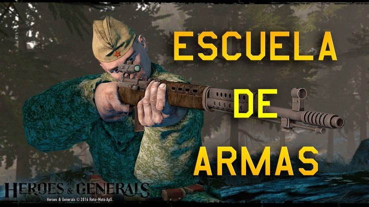 Heroes & Generals Escuela de Armas: Tokarev SVT-40