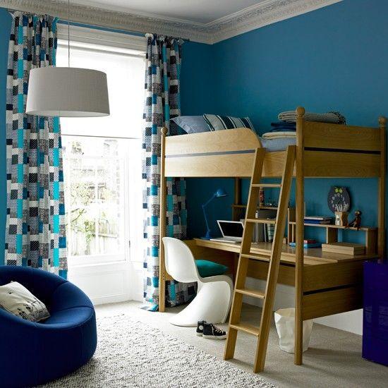 Bold childrens room   Boys rooms   Design ideas   Image   Housetohome